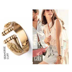 NIB Cabi seahorse cuff Style 2101